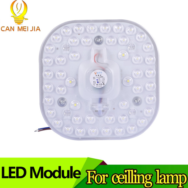 גבוהה כוח Led מודול אור 50 W 12 W 18 W 24 W 36 W תקרת חיסכון באנרגיה מנורות תאורה מקור 220 V קר לבן עבור מטבח חדר שינה