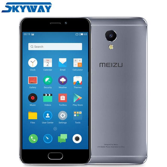 Original Meizu M5 Note Cell phone 3GB RAM 16/32GB ROM 1080P 5.5 inch Helio P10 Octa core 13MP camera 4000mAh fast charge