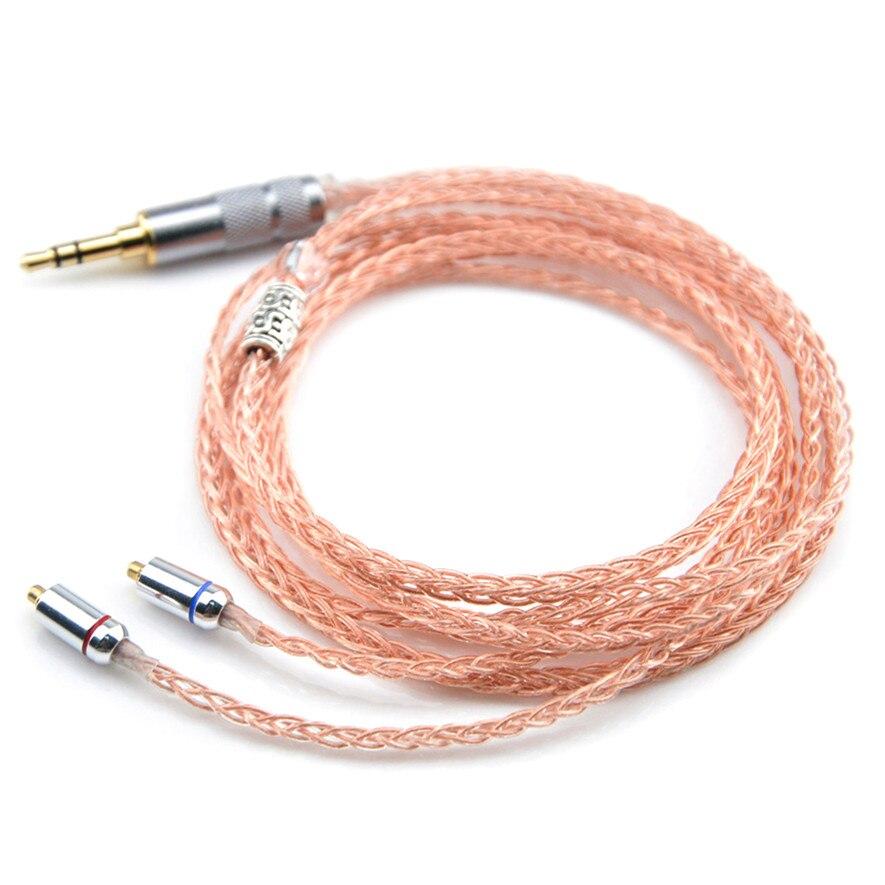 bilder für Einfach 8 core kopfhörer upgrade silber überzogene kabel für shure se215 se846 se535 ue900 headset mmcx audio kabel verbesserte linien
