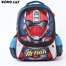 Cartoon 3D Kids Children School Backpack Cool Hero Bags Boys Bookbag  School Backpacks for Teens Boys Student Schoolbag чайник электрический element el kettle 2200 w
