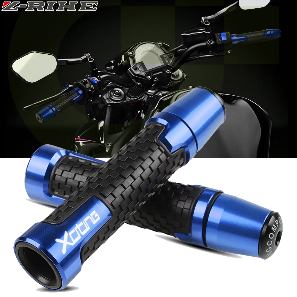 For KYMCO XCITING 250 300 350 400 400S 500 Motorcycle Knobs Anti-Skid Scooter Handle Grips Cnc 22mm Bar Hand Handlebar