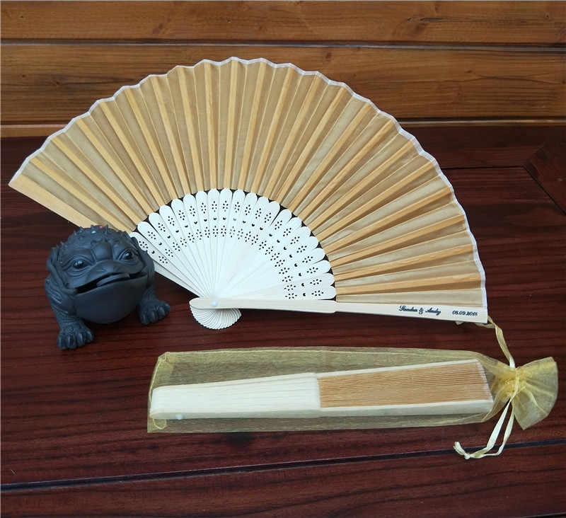 Colorful Folding Fan Chinese Style Hand Held Fan Bamboo Silk Folding Fan Party Wedding Decor Dropshipping
