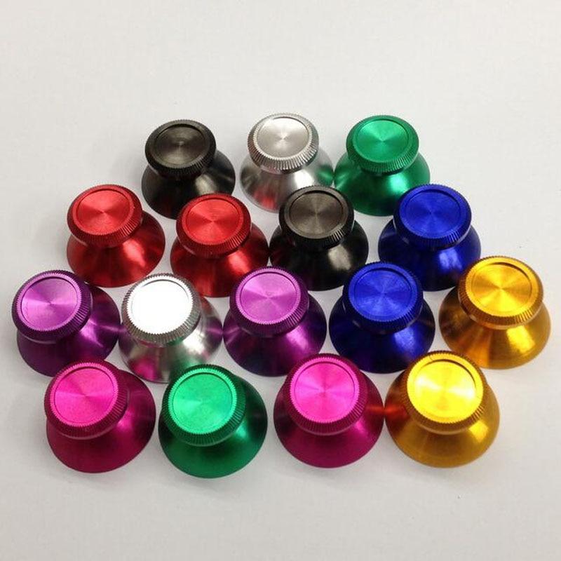 Aluminum Metal 3D Analog Joystick thumb Stick grips Caps Replacement Repair for playstation 4 PS4 XBOX ONE Gamepad Controller