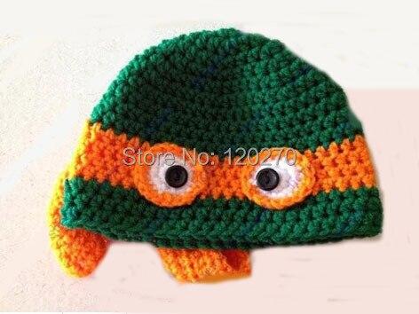 Free Shipping Baby Boys Crochet Tmnt Teenage Mutant Ninja Turtles