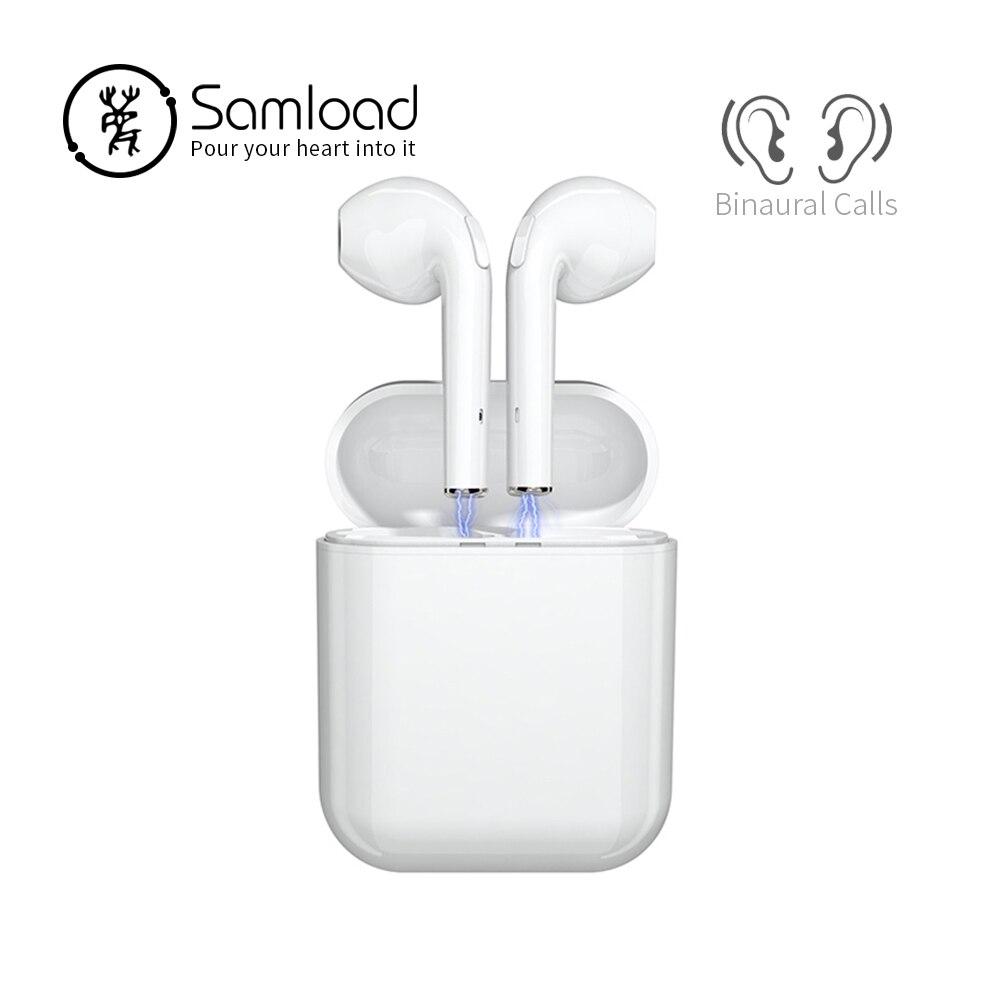 Samload Bluetooth 5.0 écouteurs Binaural appels sans fil casque stéréo musique écouteurs 1500mAh batterie externe pour casque smartphone-in Écouteurs et casques from Electronique    1