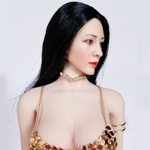 Image 3 - Ropa femenina a escala 1/6, ropa interior Sexy con sujetador, conjunto de Bikini para muñecas de acción de pecho grande/mediano de 12 pulgadas