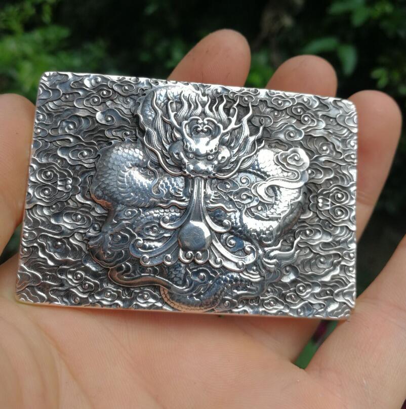5bfac79f2 Male Jewelry 999 Silver Dragon Belt Buckle. Witchweddingdressvjz admin onJun,  01 2019