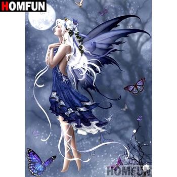 HOMFUN 5D DIY Diamond Painting