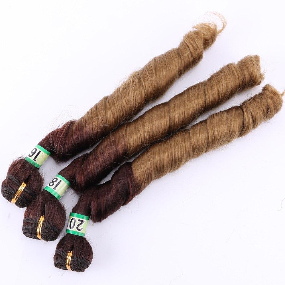 feixes de cabelo encaracolado 210 grama um