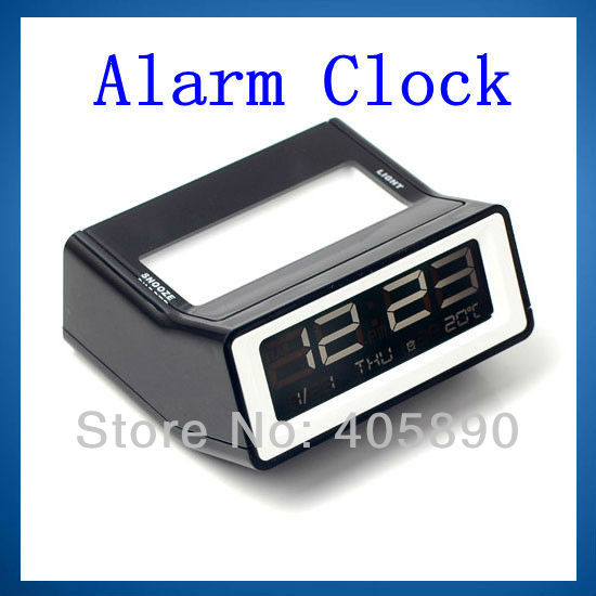 Mini Alarm Clock Electric Lcd Clock Contracted Fashion