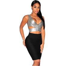 Wholesale metallic top from