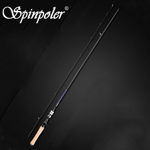 Spinpoler 2 1m UL Fast Spinning Carbon Fiber Bass Fishing Rod 2 9g Lure Weight 2