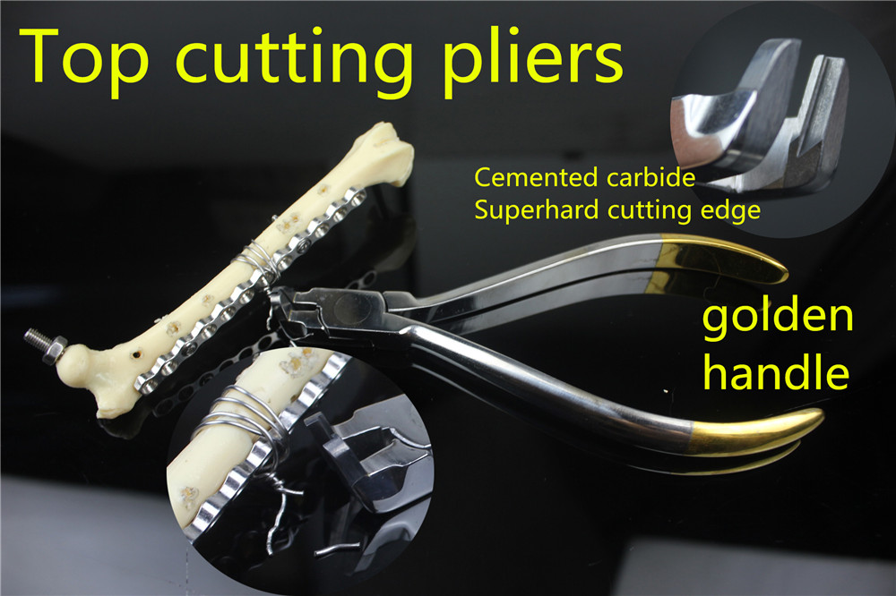medical orthopedic instrument Top cutting pliers stainless steel Wire cutter Cemented carbide DC dental Tail wire cutting forcep made in taiwan sealey exhaust tail pipe steel copper tubing cutter cutting chain pliers 80mm caliper
