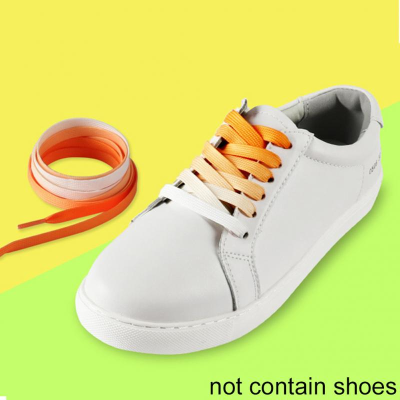 slippers Clothing, Shoes & Accessories X2 PAIRS 2-Pairs-Of-Rainbow-Flat-Canvas-Athletic-Shoelace-Sport-Sneaker