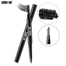 MAANGE 2 in 1 Makeup Eyebrow Pencil Eyebrow Enhancer Waterproof Long-lasting Easy To Wear Beauty Eyebrow Cosmetic Makeup Brush