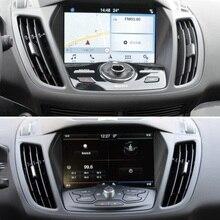 Для Ford Kuga 2013 автомобильные аксессуары gps навигации закаленное Стекло Экран протектор Сталь защитная пленка