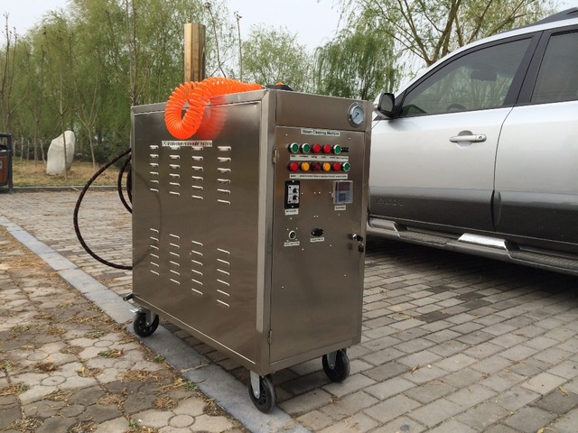 Charmant Free Shipping 48V LPG Portable 2 Steam Guns High Pressure Micro Water Steam  Cleaning Machine