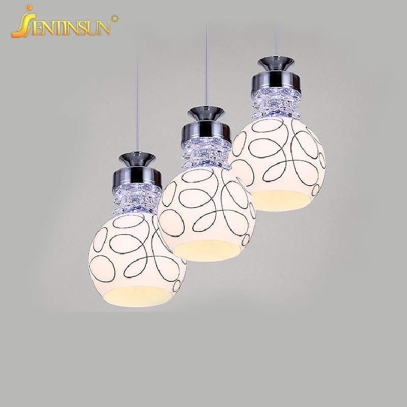 Modern Clear Glass Milk White Shade LED Pendant Light Home Fixture Lighting Fashion Hanging Lamp for Bar Bedroom Living Room hp cb304ae