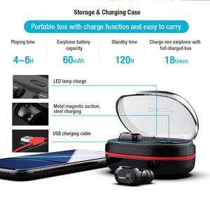 Image 5 - DACOM K6H Pro Bluetooth Earbuds Built in Mic True Wireless Stereo Earphones In ear Mini Earpieces for iPhone Xiaomi Samsung