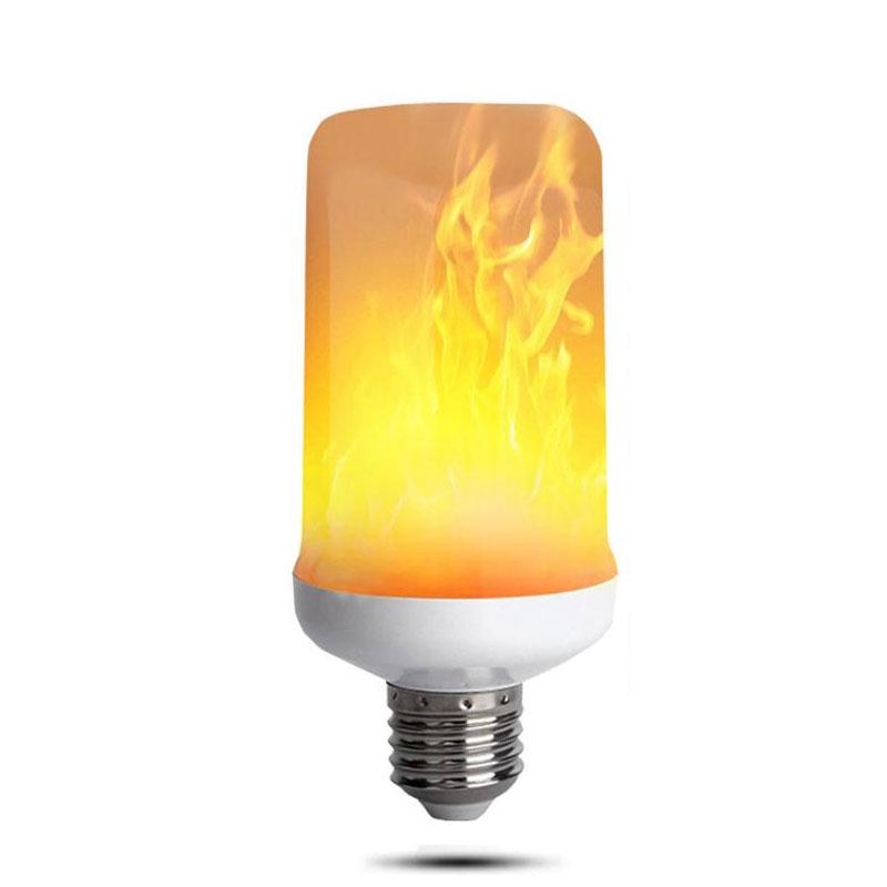 Atmosphere Lamp Bedroom Light Bulbs Fire Light 4w AC185-265V E27 Flame Effect Lamp 2835SMD