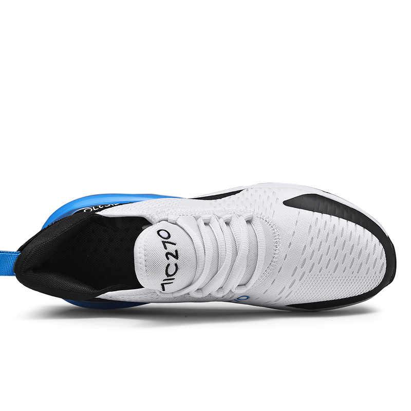 ブランド新ランニングシューズ男性のためのエアクッションメッシュ通気性耐摩耗性ホット 2019 フィットネストレーナースポーツの靴男性スニーカー