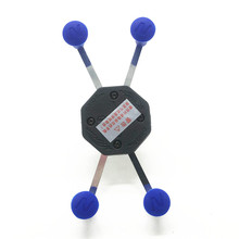 Universal Cell Phone Holder With Rubber Caps to Rubber Ball Mount Head for Gopro Ram Mounts Smartphone