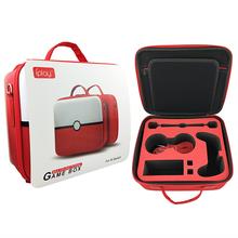 Nuevo Producto bolsa de almacenamiento para interruptor poke ball funda protectora para Nintendo Switch controlador color Rojo