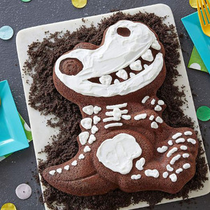 Image 4 - 3D 恐竜シェイプケーキクッキー金型フォンダンケーキデコレーションツールゼリー金型キッチン菓子ベーキングツール