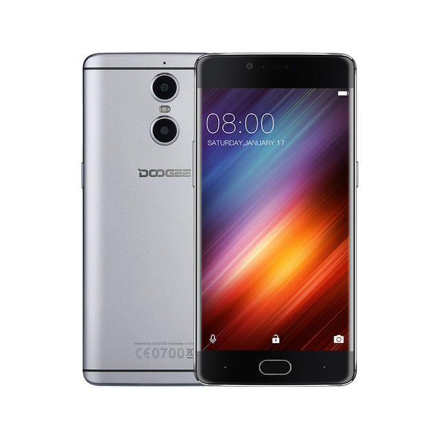 DOOGEE Shoot 1 LTE mobile phones Dual Rear Cameras Fingerprint 5.5Inch FHD 2GB+16GB Android 6.0 MTK6737T Quad Core 3300mAH 2 SIM