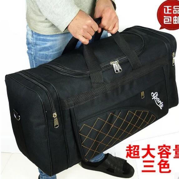 Large Capacity Travel Bags Men Women Waterproof Shoulder Travel Duffle Bags  Oxford Cloth Big Travel Handbag Folding Bag For Trip-in Travel Bags from  Luggage ... f97285972909d
