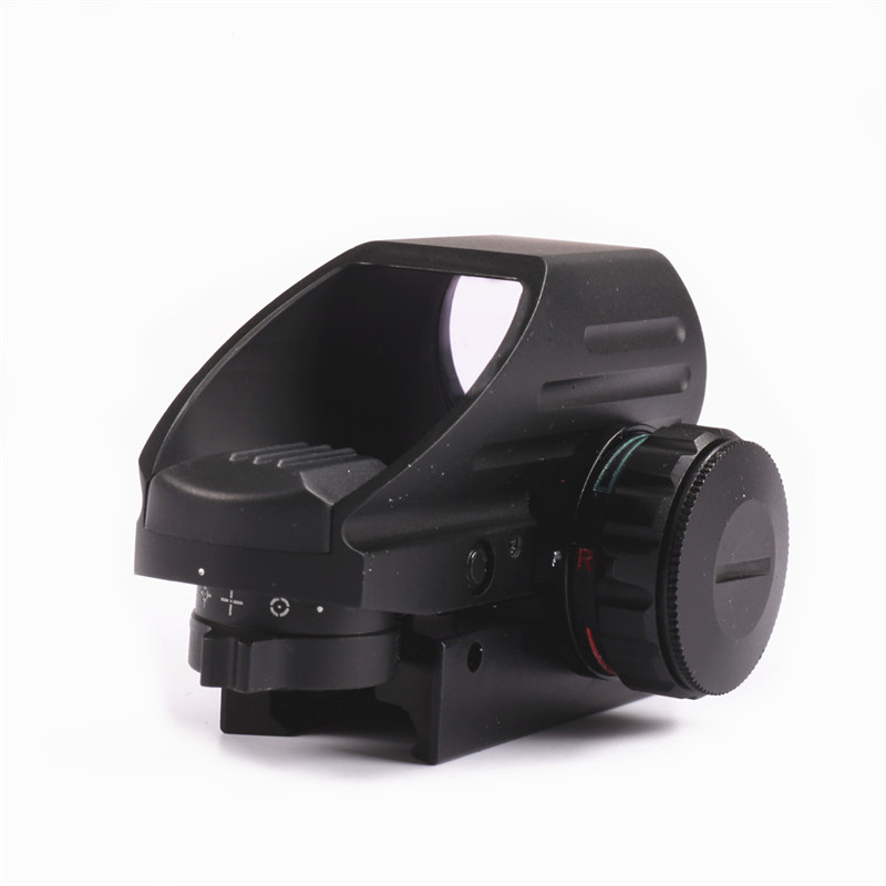 Holographic 4 Reticle Red/Green Dot Tactical Reflex Sight Scope with 20mm Rail Mount for Gun 33mm New Free Shipping! tactical holographic red green dot reflex 4 reticle sight scope w 20mm rail mount for hunting
