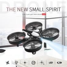 Оригинальный jjrc Мини Quadcopter 4CH микро летающие Радиоуправляемый Дрон Вертолет игрушки против Drone H8 H20 helicoptero де Controle Remoto