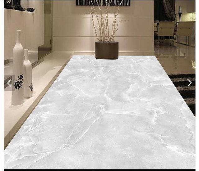 3D Photo Wallpaper Custom 3d Floor Painting Hotel Room Marble Stone 3 D Tile