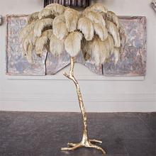 Modern LED Floor Lmap Romantic Feather Design Living Room Floor Light Feather Landing Lamp 110V 220V Stand Lamp Deco Stand Light fashionable design feather floor lamp home lighting for living room dining room bedroom stand light with foot switch