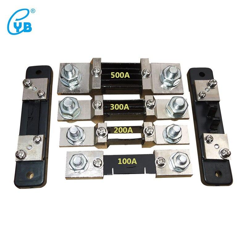Shunt de courant pour ampèremètre Shunt 10A 20A 50A 100A 200A 300A 500A 1000A capteur de courant Shunt fendu Shunt externe