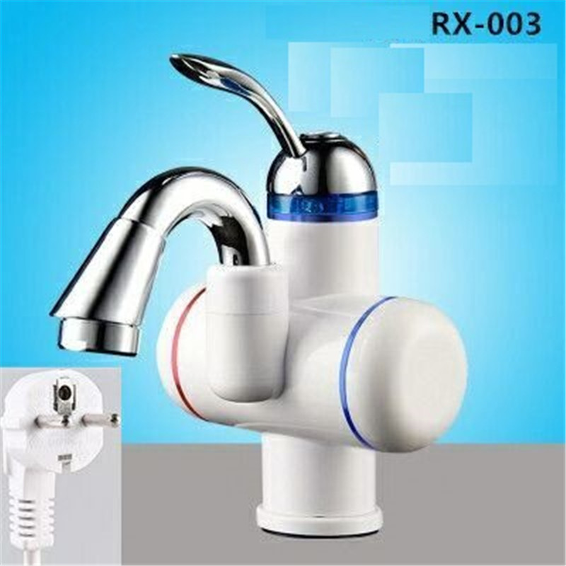 RX-003UM,Digital Display Instant Hot Water Tap,Electric Instant Hot Water Heater Tap 180 Rotation 220V Heated Faucet