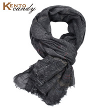 2019 Japanese casual Unisex Style Winter cotton Scarf male Striped long Suit womens brand scarves black gift shawl Men