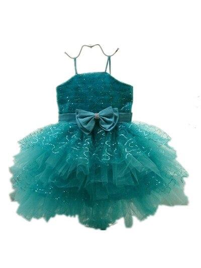BABY WOW Newborn Baby Clothes Girls Dresses Chiristmas Flower Girl Dresses 1 Year Birthday Dress Vestido
