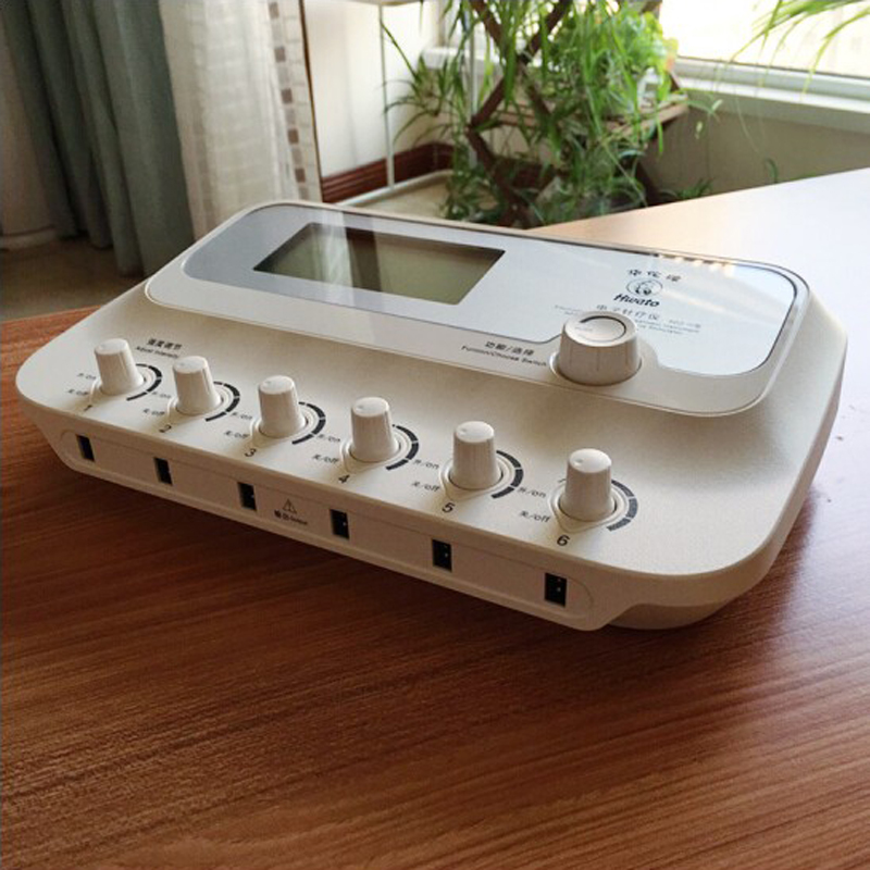 Image 2 - 6 Channels Output SDZ III Low Frequency electric stimulator muscle Acupuncture needle treatment for Nerve and muscle Masseur-in Massage & Relaxation from Beauty & Health