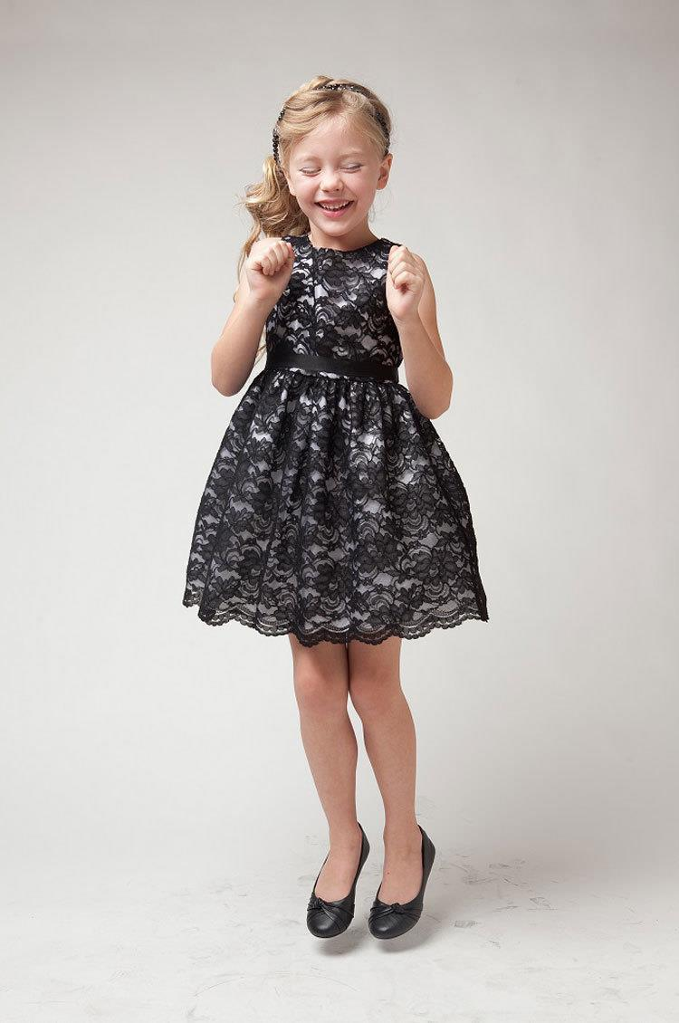 Aliexpress.com : Buy Baby Girl Birthday Dress Flower Lace Teen ...