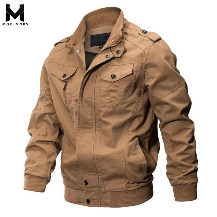 Hiver hommes nouveau décontracté couleur unie col coton hommes veste de mode marque équipement militaire coupe-vent à manches longues homme vestes