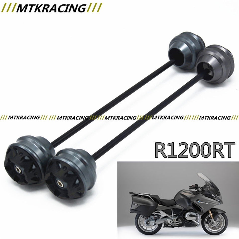 MTKRACING Free shipping for BMW R1200RT 2005-2013 CNC Modified+Motorcycle Front wheel drop ball / shock absorber new free shipping motorcycle red front