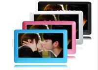 뜨거운 4.3 인치 TFT 터치 스크린 4 기가바이트 8 기가바이트 MP3 MP4 MP5 플레이어 FM 라디오 비디오 TV 아웃 포함하여 이어폰 스피커 전자 책 독서