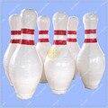 Горячие Продажи Надувной Шар Для Боулинга 6 шт. 2 м Высокий, гигантские Игры Игра в Мяч, Человека Zorb Боулинг Игры