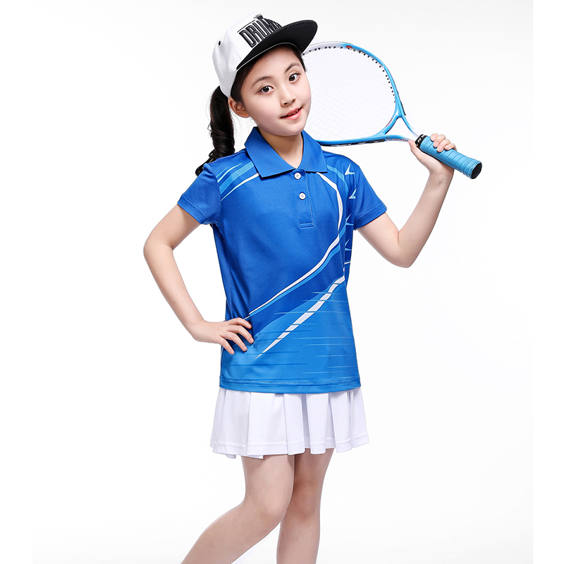 Children Badminton clothes Girl tracksuit,Sports children table tennis clothes boy , sport running Badminton clothes 5059 new children s tennis badminton dress girls breathable quick drying summer tennis suit sports dress with short pants