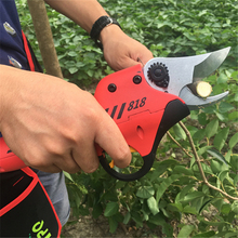 CE certificate 10-12 working hours orchard and garden electric pruners,apple tree pruner,FPQ electric pruner,0.25second a time