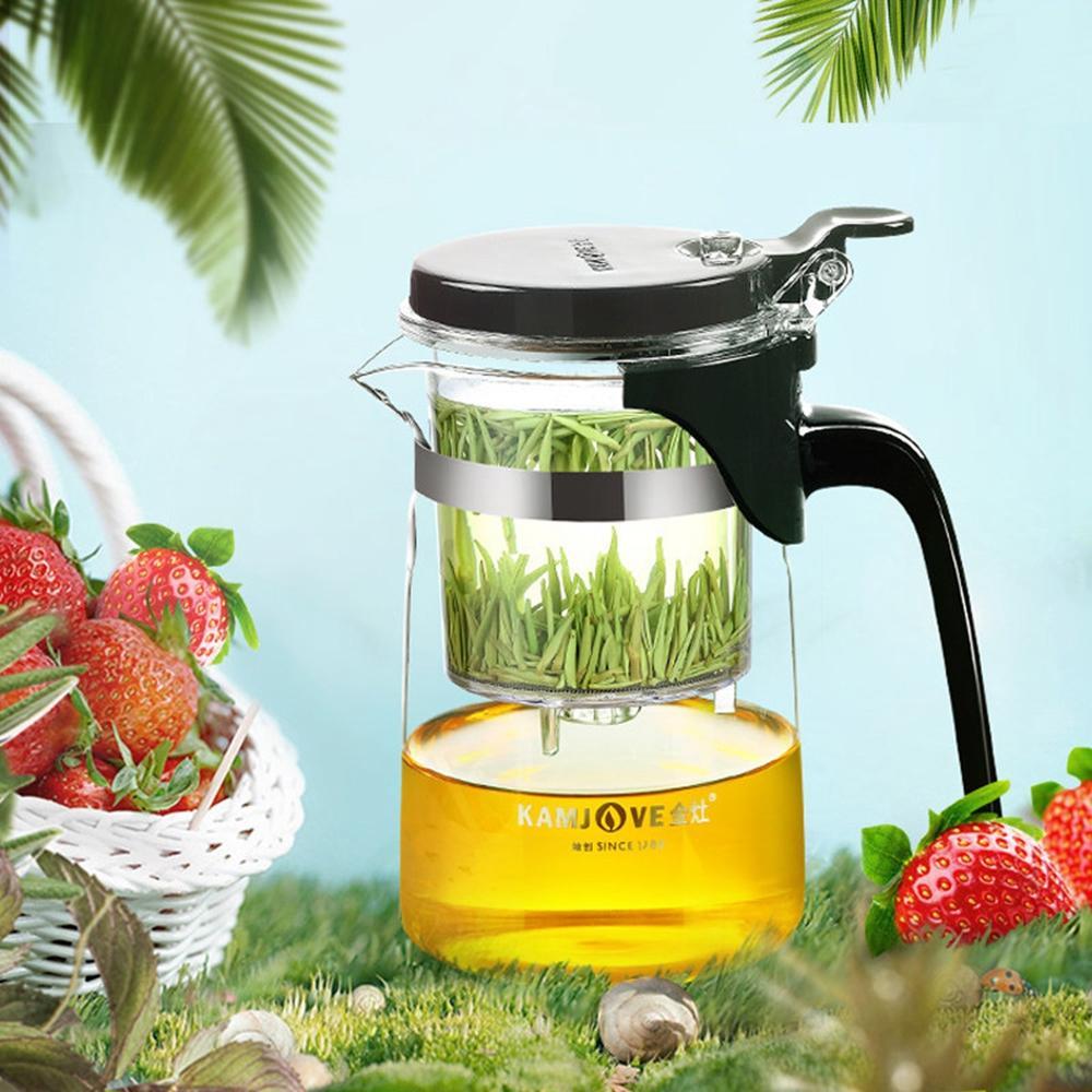 Kamjove k 201 tea cup tea pot elegant cup glass tea set glass cup|cup ceramic|cups sale|cup seal - title=