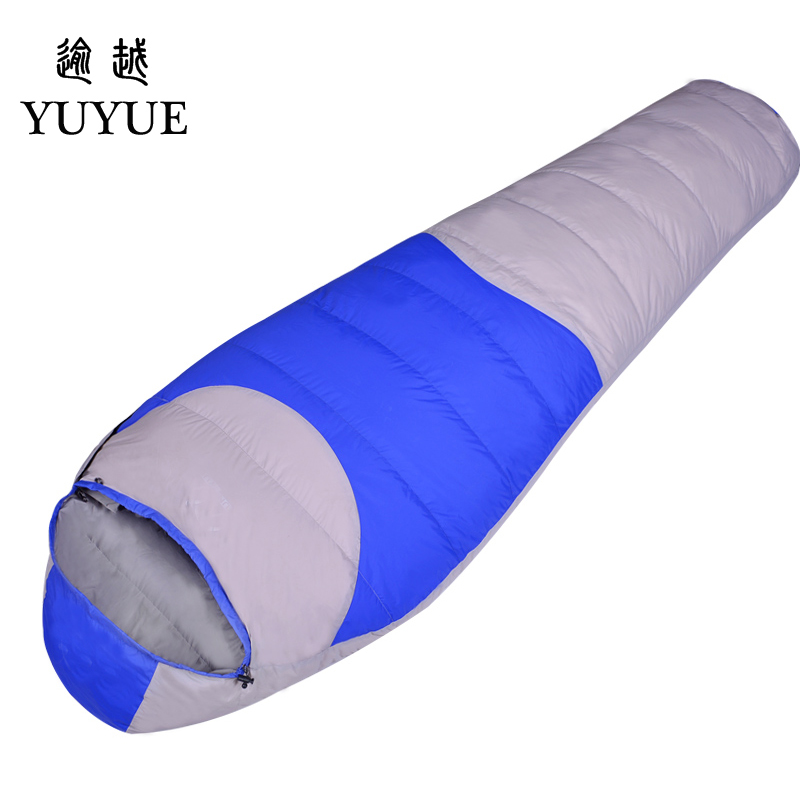 2600g Adult Winter Sleeping Bag For Camp Equipment Hiking Waterproof Warm Camping Winter Camping Sleeping Bags With Stuff Sack 0