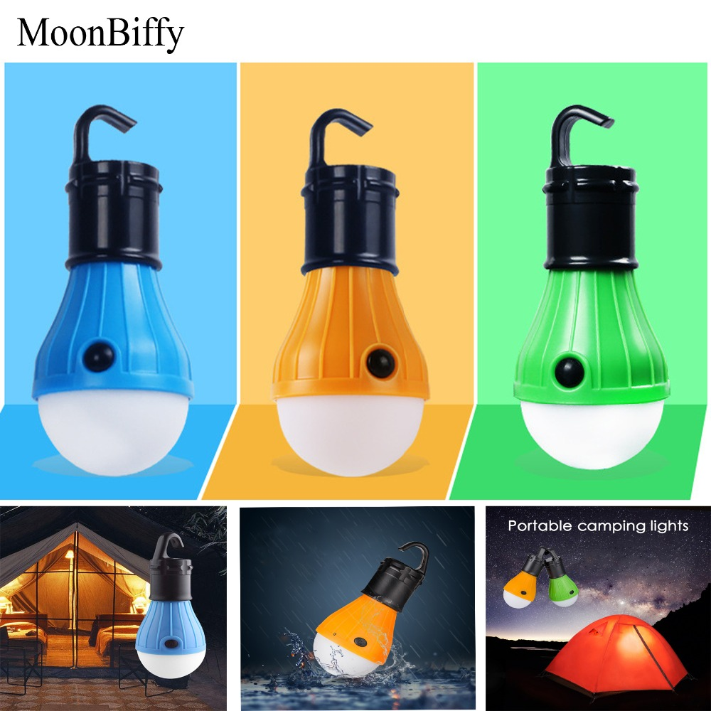 UnabhäNgig 1 Stück Großhandel Dropshipping Moonbiffy Wasserdichte Tragbare Taschenlampen Zelt Lampe Led-lampe Notfall Hängen Haken Taschenlampe Tragbare Beleuchtung