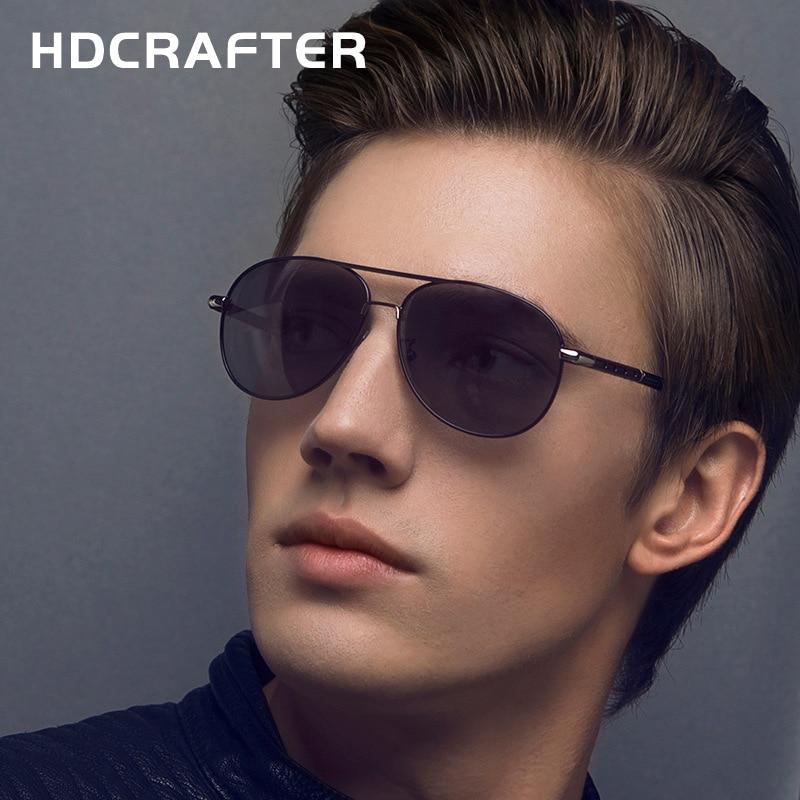 f219d5215d 2017 polarized brand designer sunglasses for men vintage retro pilot style  metal frame sun glasses oculos de sol masculino cool-in Sunglasses from  Men s ...